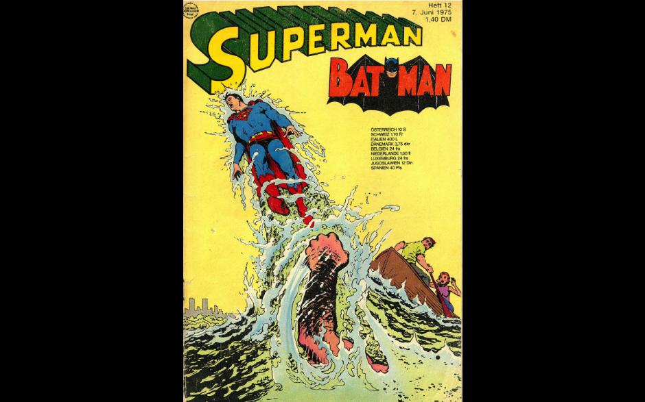 Superman Heft Nr. 12, 1975